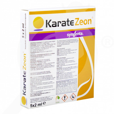 ro syngenta insecticid agro karate zeon 50 cs fiole 2 ml - 1