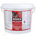ro pelgar raticid rodex wax block 2 5 kg - 1, small