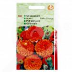 ro pieterpikzonen seminte calendula officinalis balls orange 2 g - 1, small