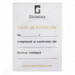 ro ghilotina statie de intoxicare s10 eticheta - 1, small