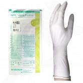 ro b braun gloves vasco surgical powdered 6 5 2 p - 1, small