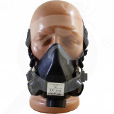 ro romcarbon safety equipment half mask srf - 1, small