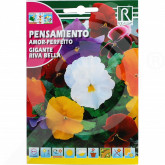 ro rocalba seed pansy gigante riva bella 0 1 g - 1, small