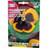 ro rocalba seed pansy amor perfeito de suiza rojo 0 5 g - 1, small