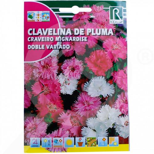 ro rocalba seed carnations doble variado 1 g - 1, small