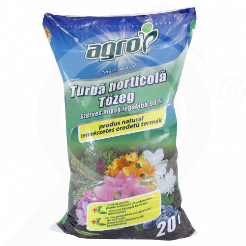 ro agro cs substrate peat 20 l - 1, small