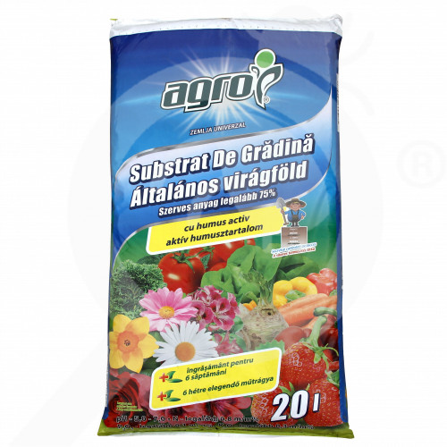 ro agro cs substrate garden substrate 20 l - 1, small