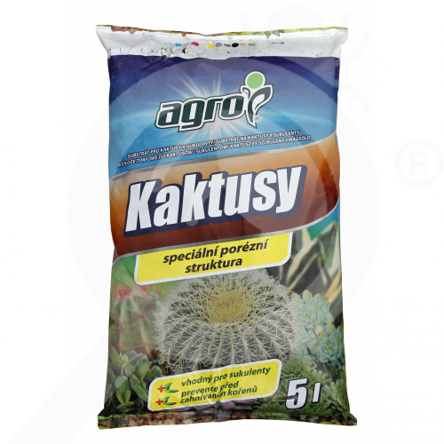 ro agro cs substrate cacti succulent plants substrate 5 l - 1, small
