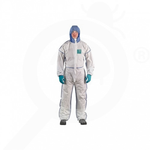 ro ansell microgard coverall alphatec 1800 comfort xl - 3, small
