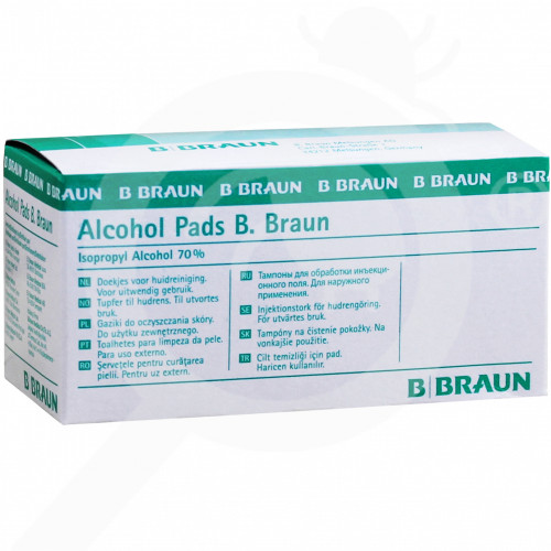 ro b braun disinfectant alcohol pad 100 p - 2, small