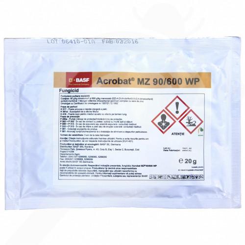 ro basf fungicid acrobat mz 90 600 wp 20 g - 1, small
