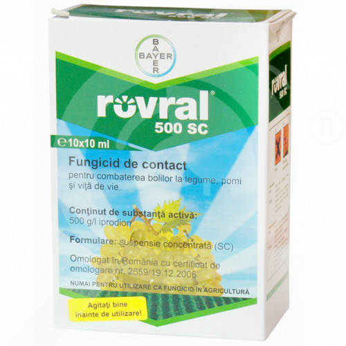 ro bayer fungicid rovral 500 sc 10 ml - 1, small