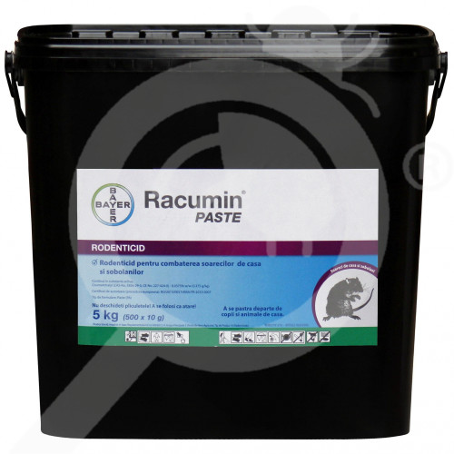 ro bayer raticid racumin pasta 5 kg - 1