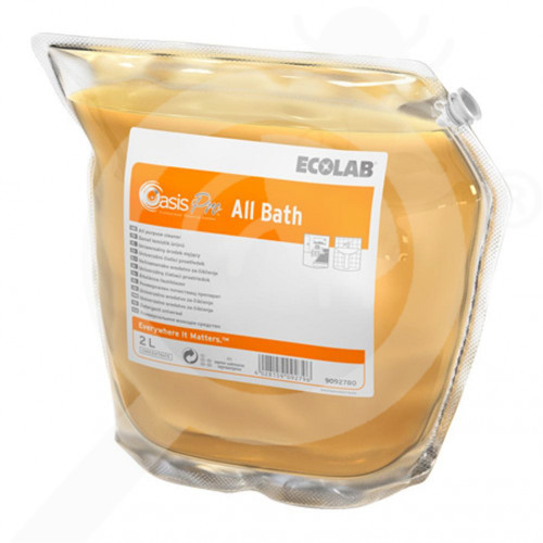 ro ecolab detergent oasis pro all bath 2 l - 1, small