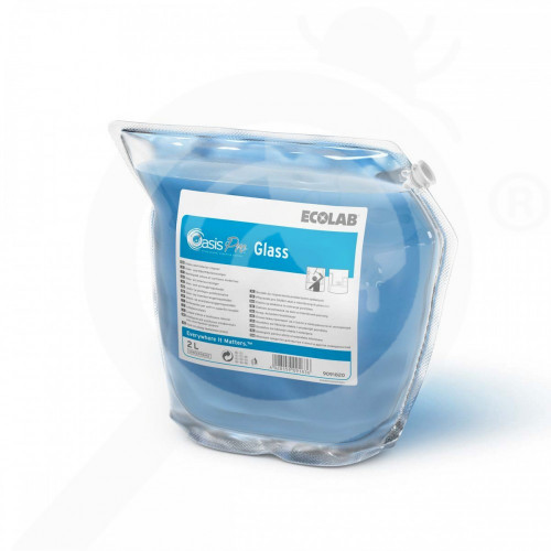 ro ecolab detergent oasis pro glass 2 l - 1