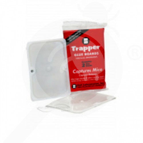 ro bell lab trap trapper glue board mouse - 2, small