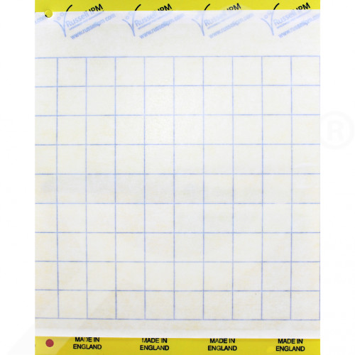 ro russell ipm adhesive trap impact yellow 20 x 25 cm - 2, small