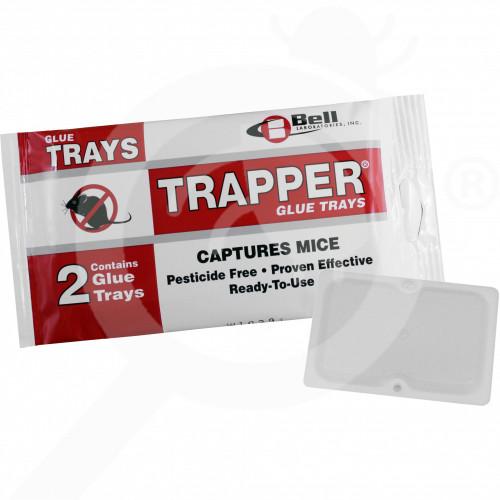 ro bell lab trap trapper glue board mouse - 1, small