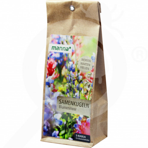 ro hauert seed multicolor flowers mix manna 90 g - 0, small