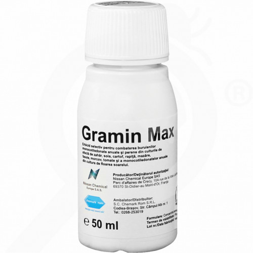 ro nissan chemical herbicide gramin max 50 ml - 1, small