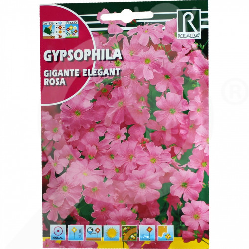 ro rocalba seed gigante elegant rosa 8 g - 1, small