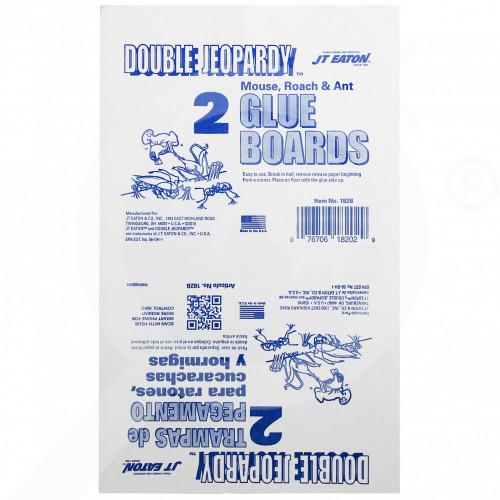 ro jt eaton adhesive trap double jeopardy glue board - 2, small