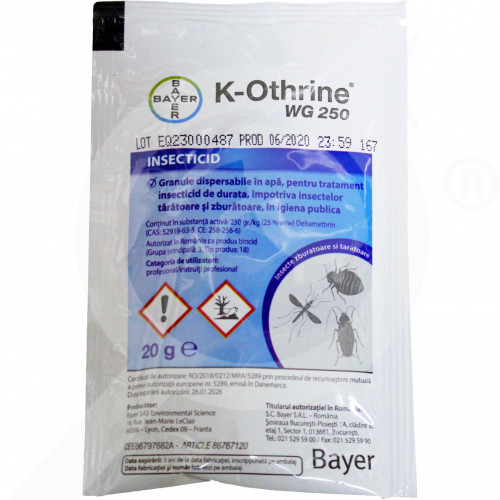 ro bayer insecticide k othrine wg 250 20 g - 2, small
