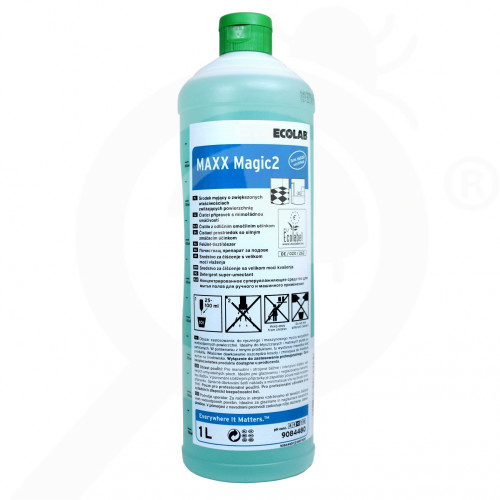 ro ecolab detergent maxx2 magic 1 l - 2, small
