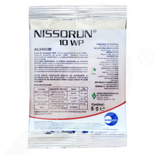 ro nippon soda acaricid nissorun 10 wp 5 g - 1, small