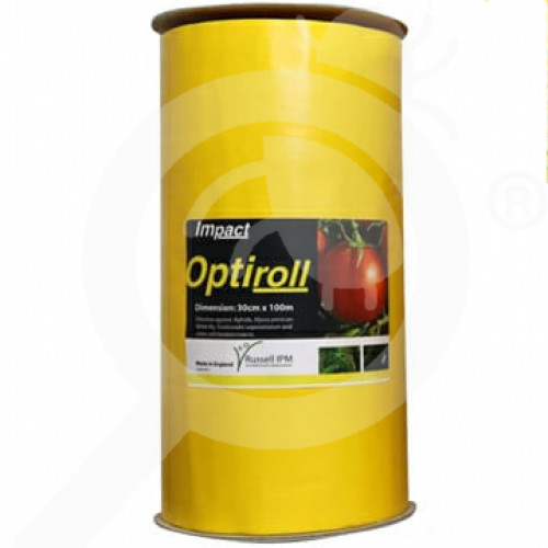 ro russell ipm pheromone optiroll yellow glue roll 15 cm x 100 m - 1, small