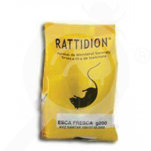 ro industrial chemica raticid ratidion esca fresca 200 g - 1, small