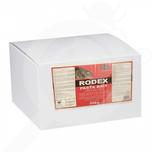 ro pelgar raticid rodex pasta bait 20 kg - 1, small