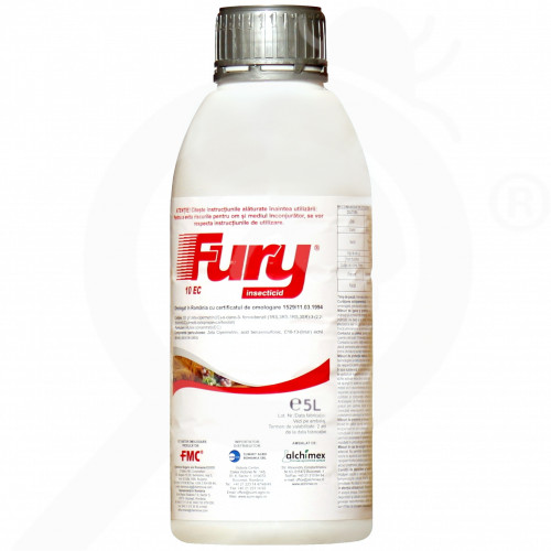 ro summit agro insecticide crop fury 10 ec 5 l - 2, small