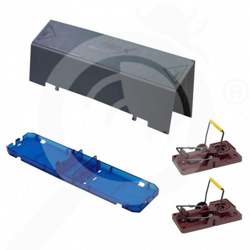 ro futura trap runbox pro base plate 2xgorilla mouse - 1