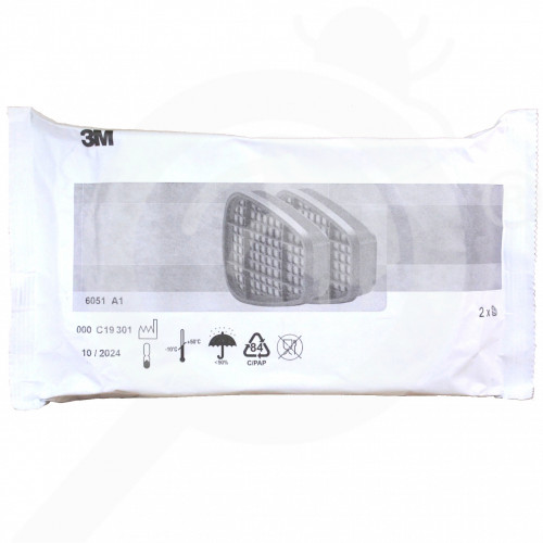 ro 3m mask filter 6051 a1 2 p - 1