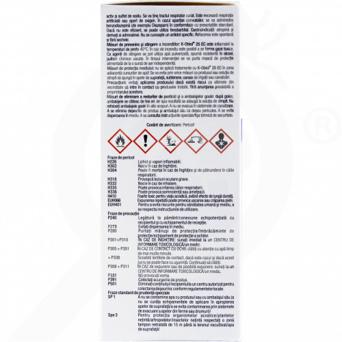 ro bayer insecticide k obiol ec 25 10 ml - 1