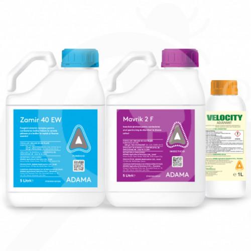 ro adama fungicide zamir 40 ew 9 l mavrik 2f 6 l velocity 3 l - 2