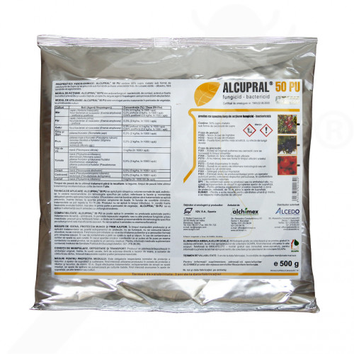 ro alchimex fungicid alcupral 50 pu 500 g - 1