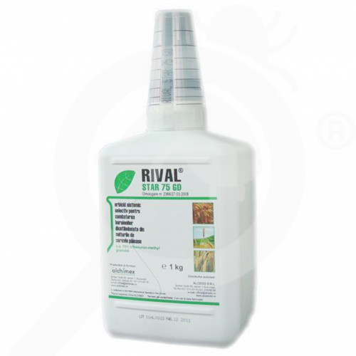 ro alchimex herbicide rival star 75 gd 1 kg - 2