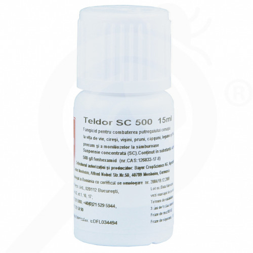 ro bayer fungicid teldor 500 sc 15 ml - 1