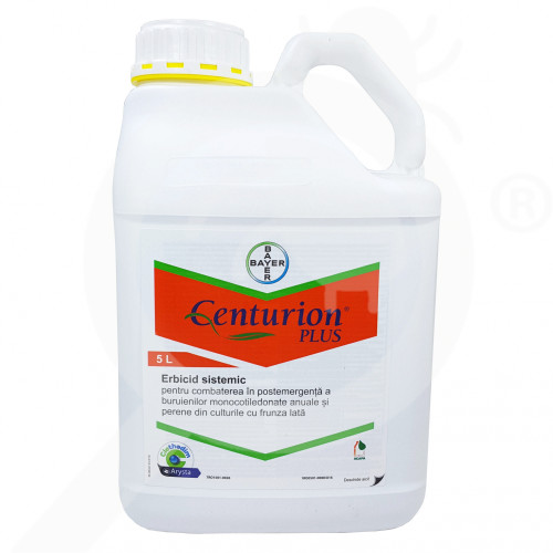 ro bayer herbicide centurion plus 5 l - 0