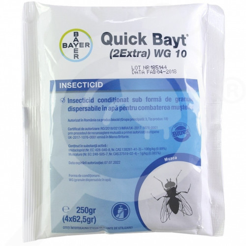 ro bayer insecticid quick bayt 2extra wg 10 plic 250 gr - 1