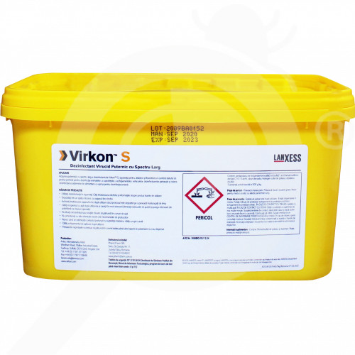 ro dupont disinfectant virkon s 5 kg - 2