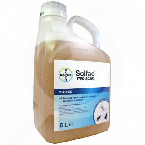 ro bayer insecticid solfac trio ec 200 5 litri - 1