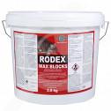 bg pelgar rodenticide rodex wax block 2 5 kg - 0, small
