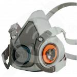 bg 3m safety equipment half face mask respirator 6000 series - 3, small