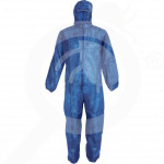 bg china safety equipment polypropylene coverall 4080ppb m - 1, small