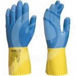 bg deltaplus safety equipment caspia latex rubber gloves - 1, small