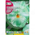 bg rocalba seed pansy amor perfeito gigante de suiza blanco 0 5  - 0, small