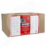 bg pelgar rodenticide rodex wax block 10 kg - 0, small